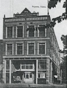 Emma Theater  Formerly Located on Northeast Corner of 1st Street N and 8th Street.
