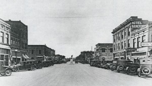 Cars Lined Main Street in the 1920s when Payette's Downtown Served a Larger Region From Nyssa to Council