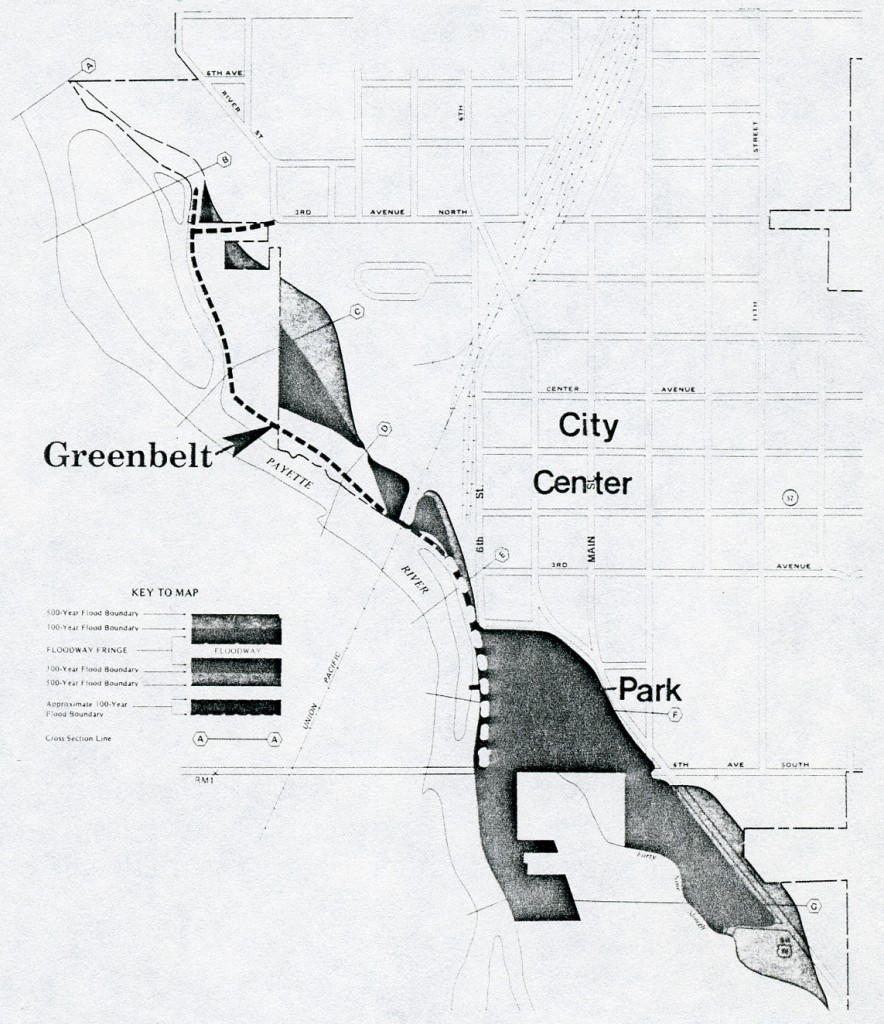 Proposed Greenbelt Along Payette River